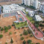 צילום אוויר - בינוי ופיתוח בית ספר תיכון וקרית חינוך - סטודיו ארטרון - צילום פרוייקטים, בינוי פיתוח ותשתיות