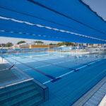 בריכת שחיה - צילומי הקמת מרכז נופש וספורט - סטודיו ארטרון - צילום פרוייקטים, בינוי פיתוח ותשתיות